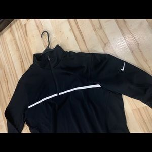 Other - Nike Golf Therma-Fit Black Pullover Half ZIP Sz XL